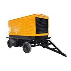烏蘭察布移動式拖車發電機組